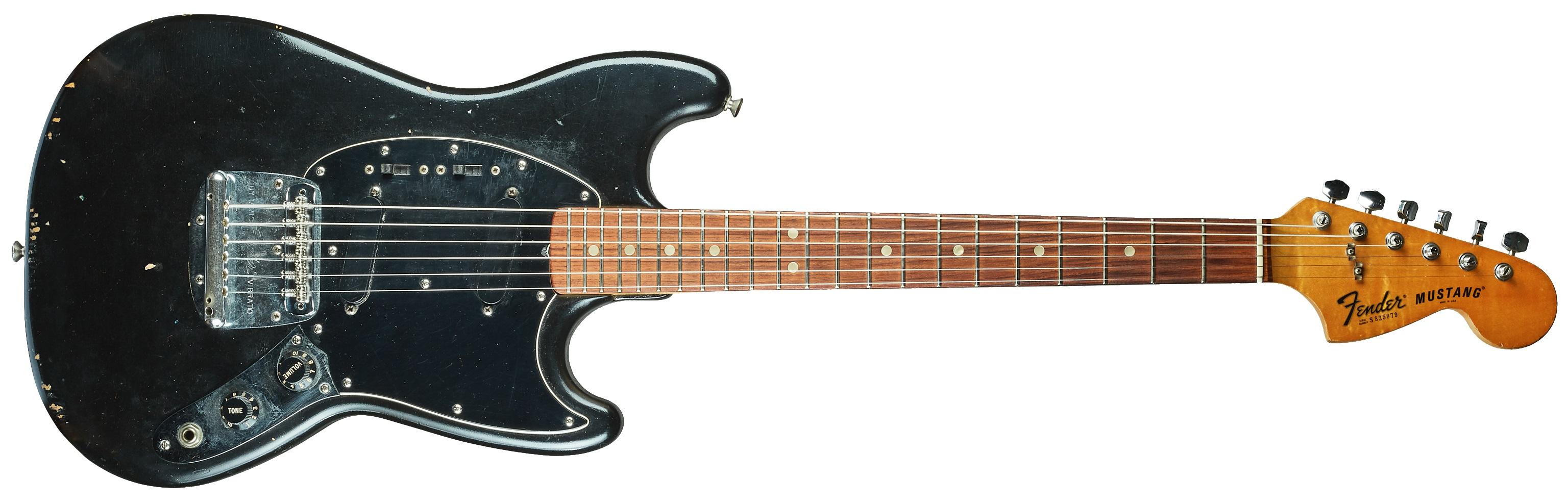 Fender 1978 Mustang Black Refinished