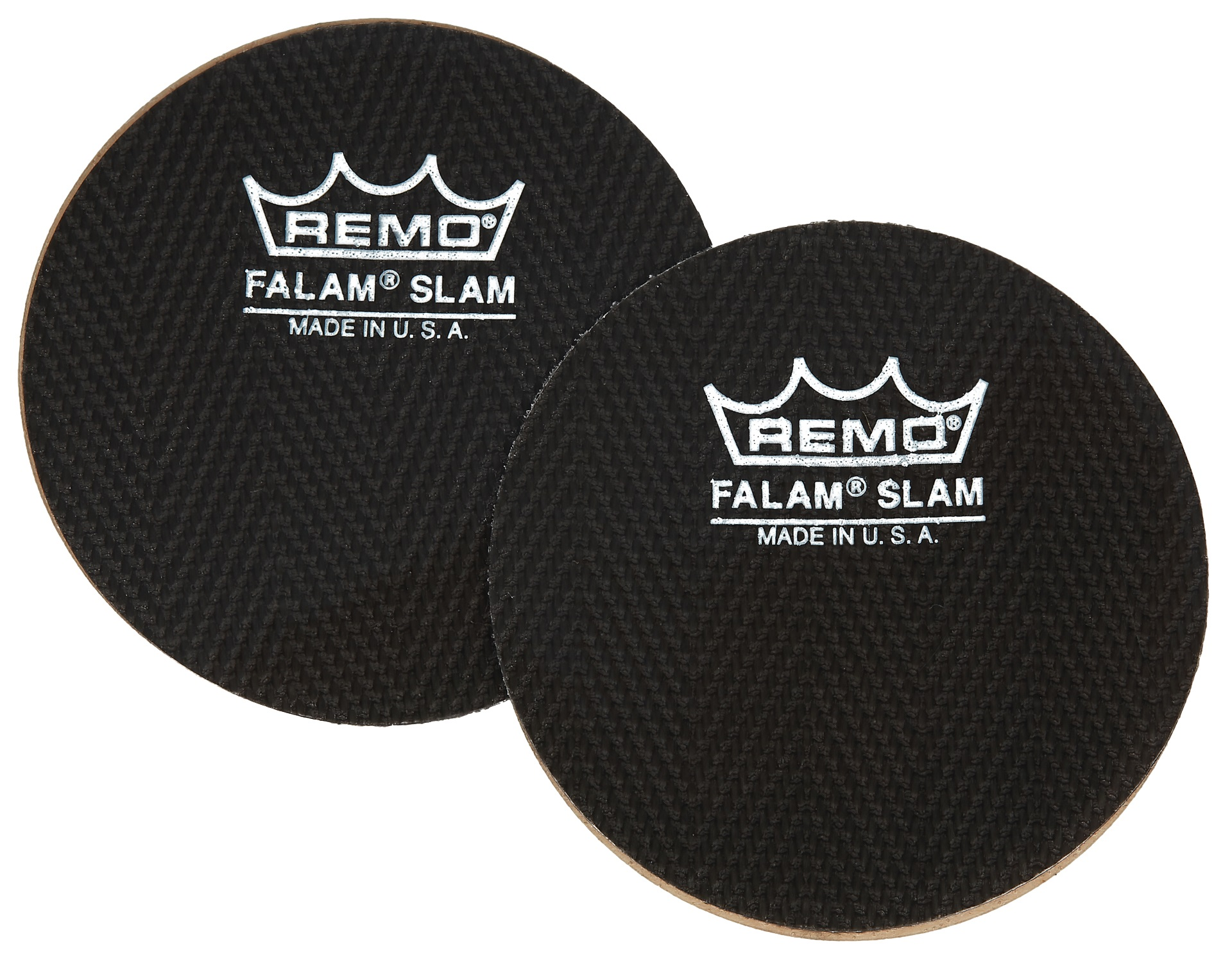 "Remo 2,5"" Single Falam Slam Black"