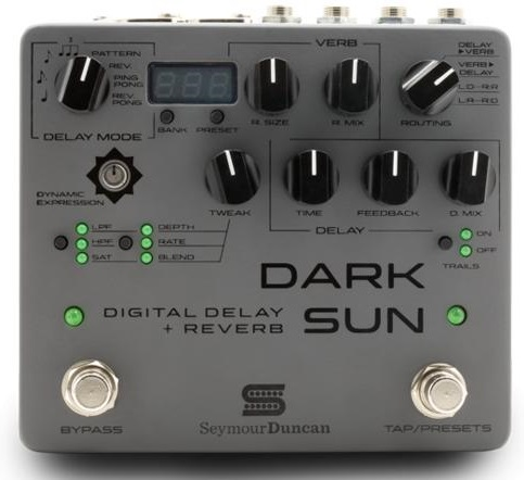 Seymour Duncan Dark Sun - Mark Holcomb Signature Delay / Reverb