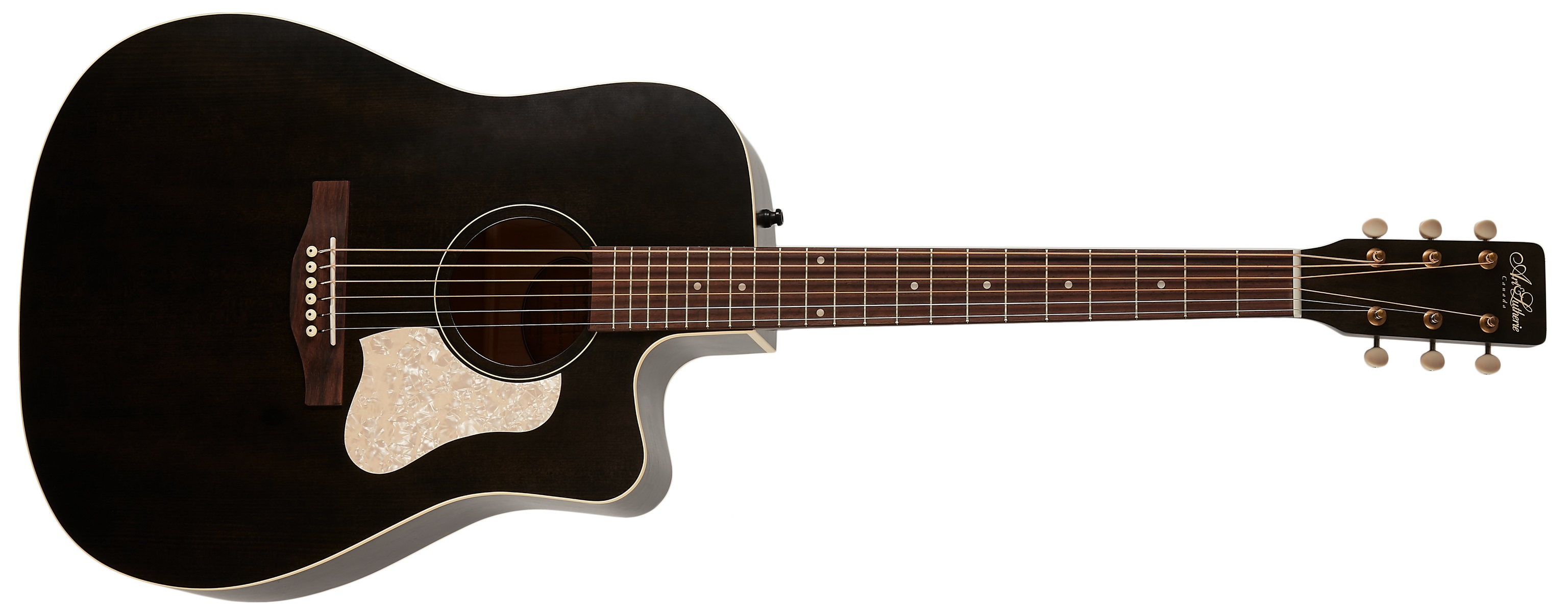 Levně Art & Lutherie Americana Faded Black CW QIT