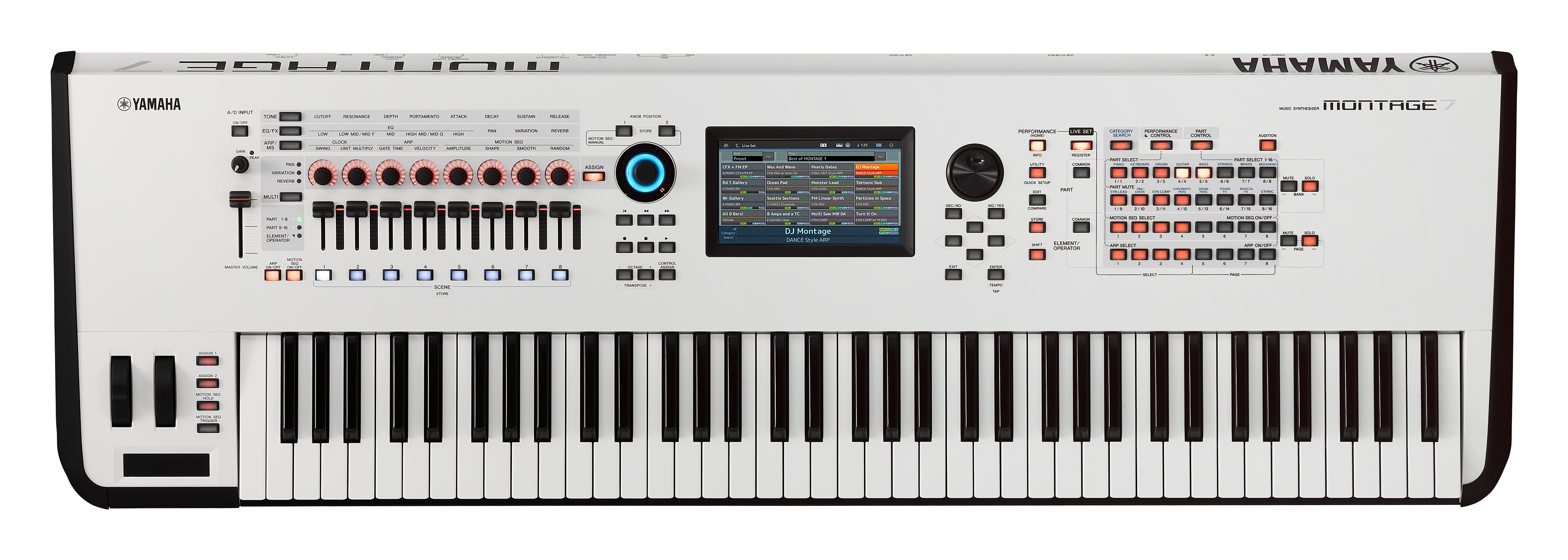 Yamaha Montage 7 WH