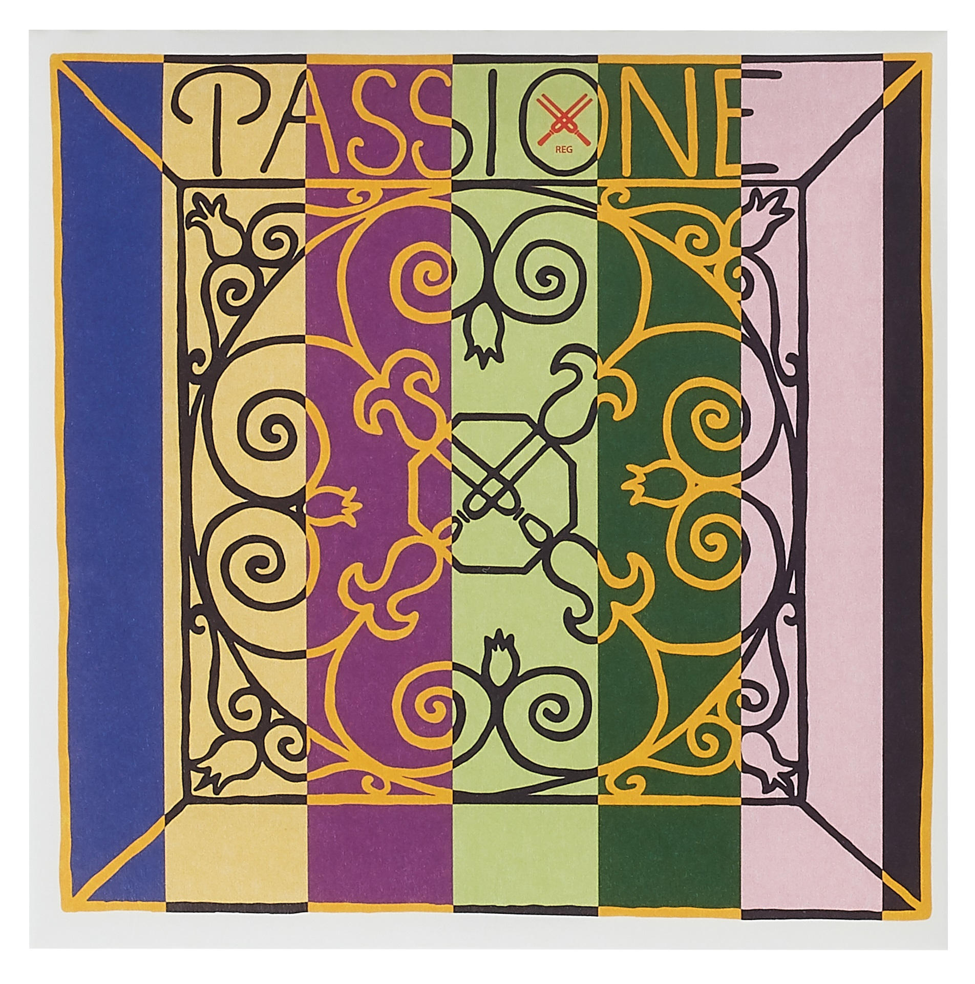 Pirastro Passione Vln Set E-ball medium