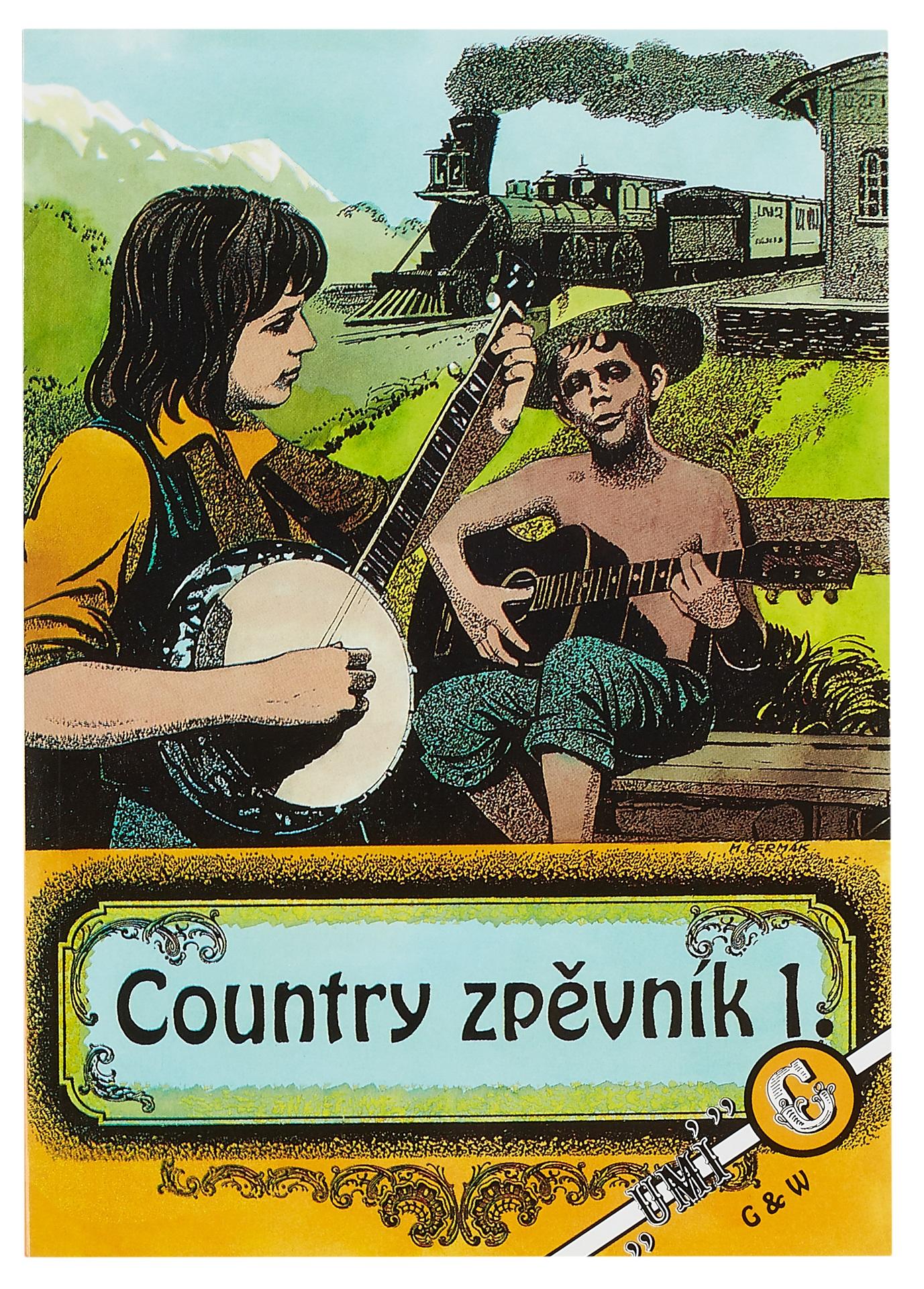 KN Country zpěvník 1. díl