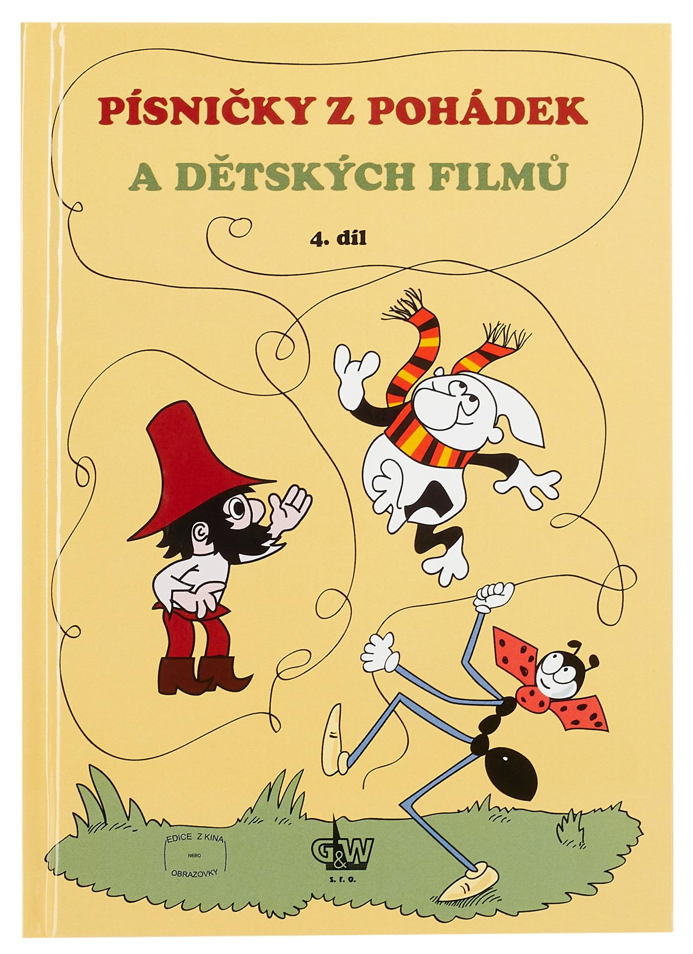 KN Písničky z pohádek - 4. díl