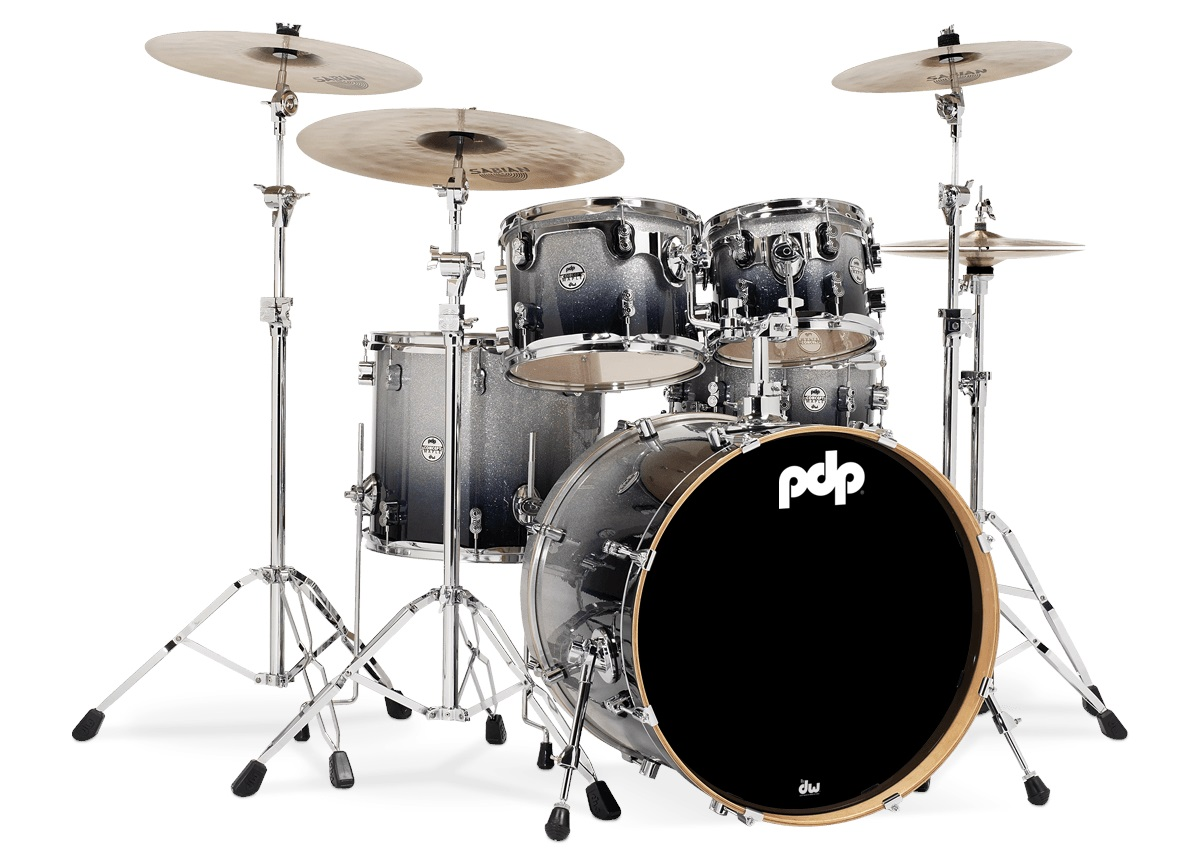 PDP Concept Maple CM5 Silver to Black Fade