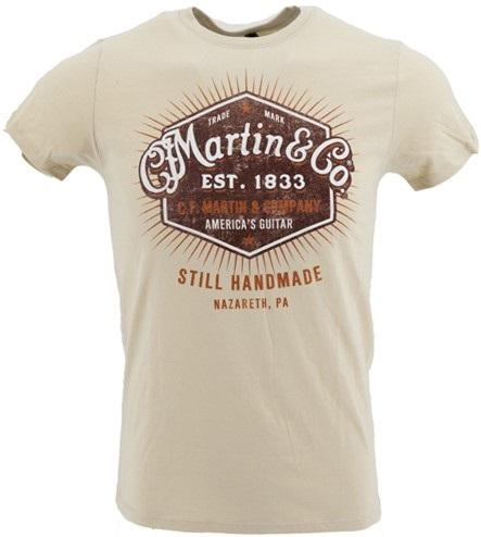 Martin T-Shirt Still Handmade XL
