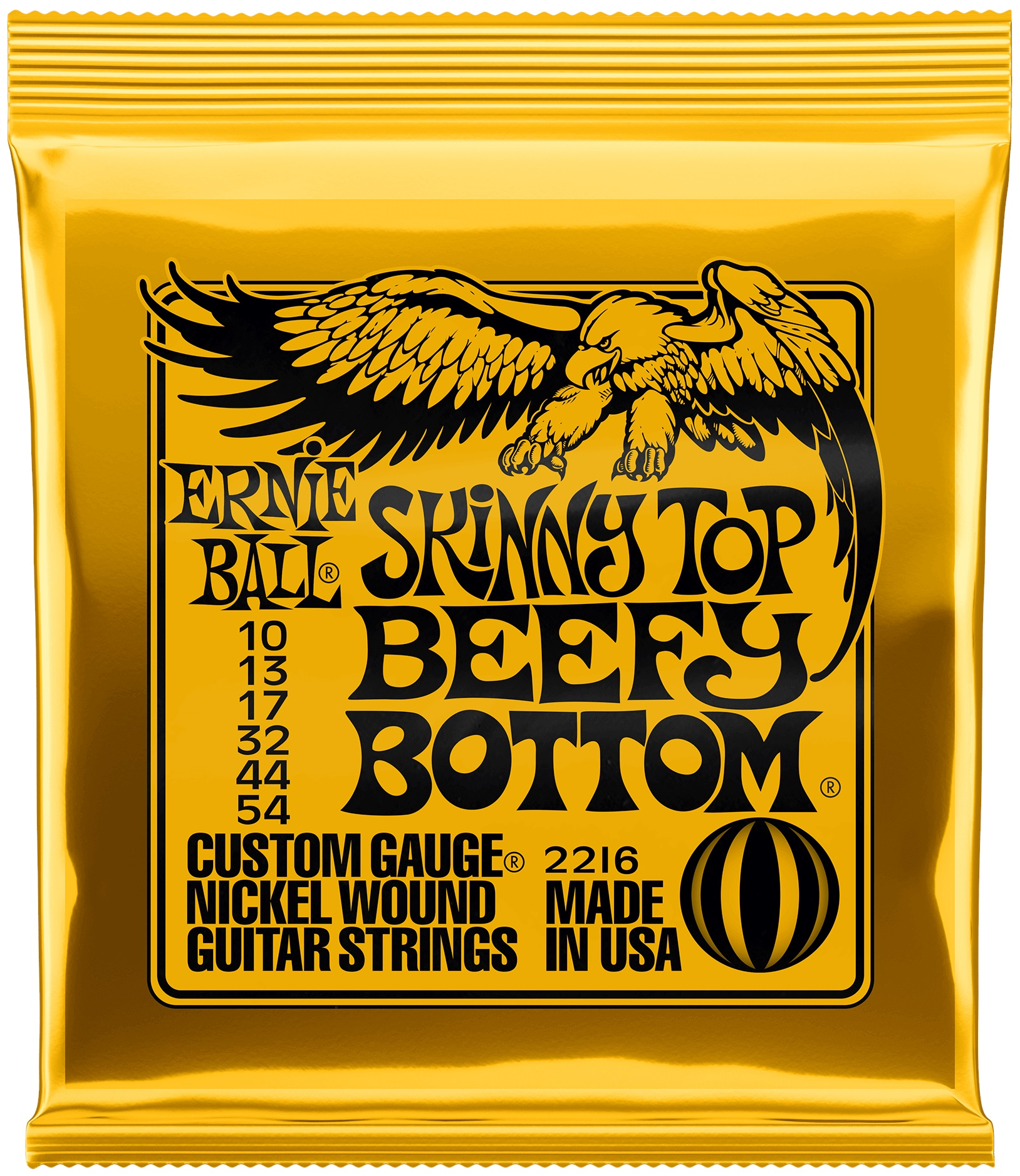 Ernie Ball Nickel Wound Skinny Top Beefy Bottom