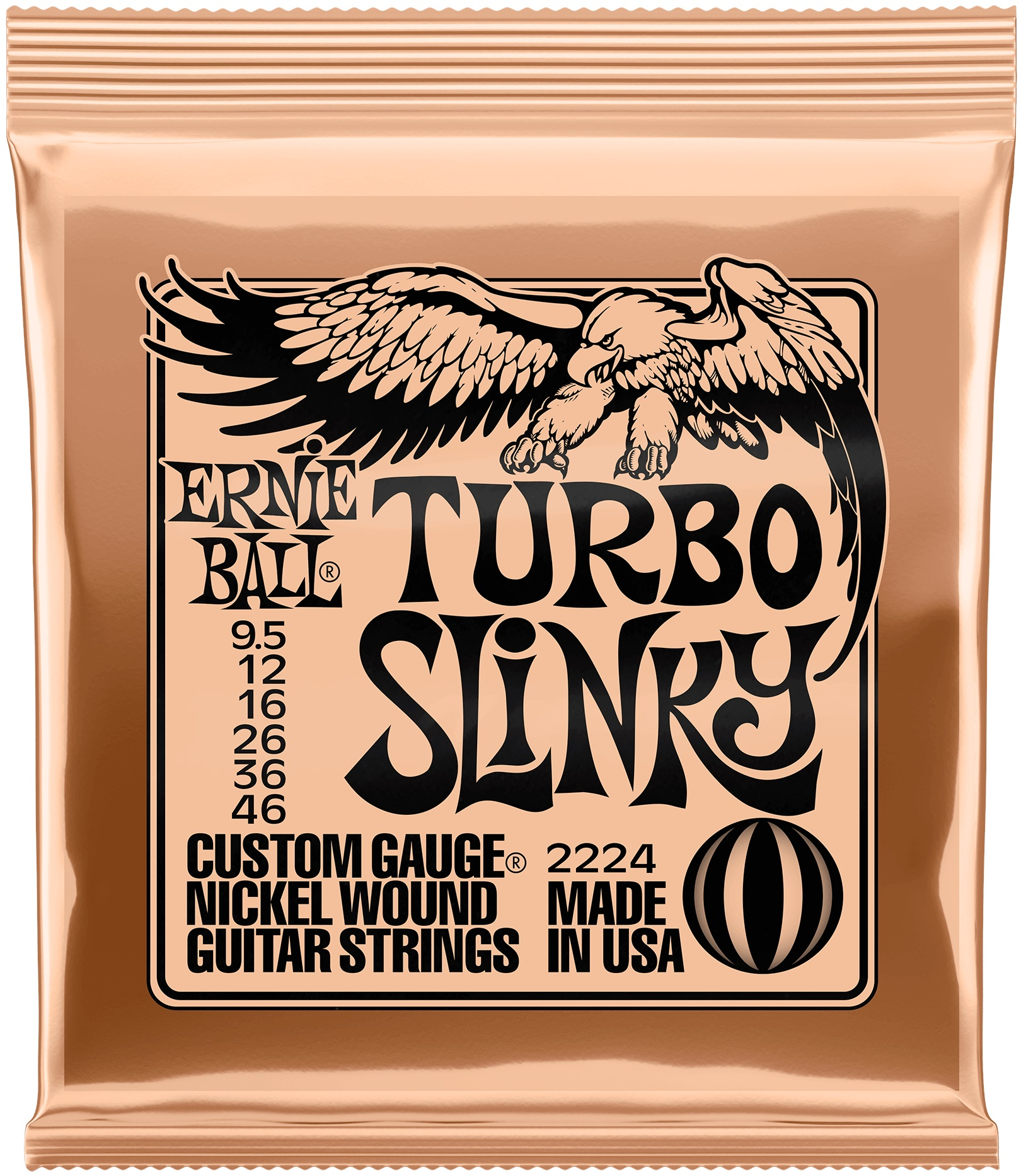 Ernie Ball Nickel Wound Turbo Slinky