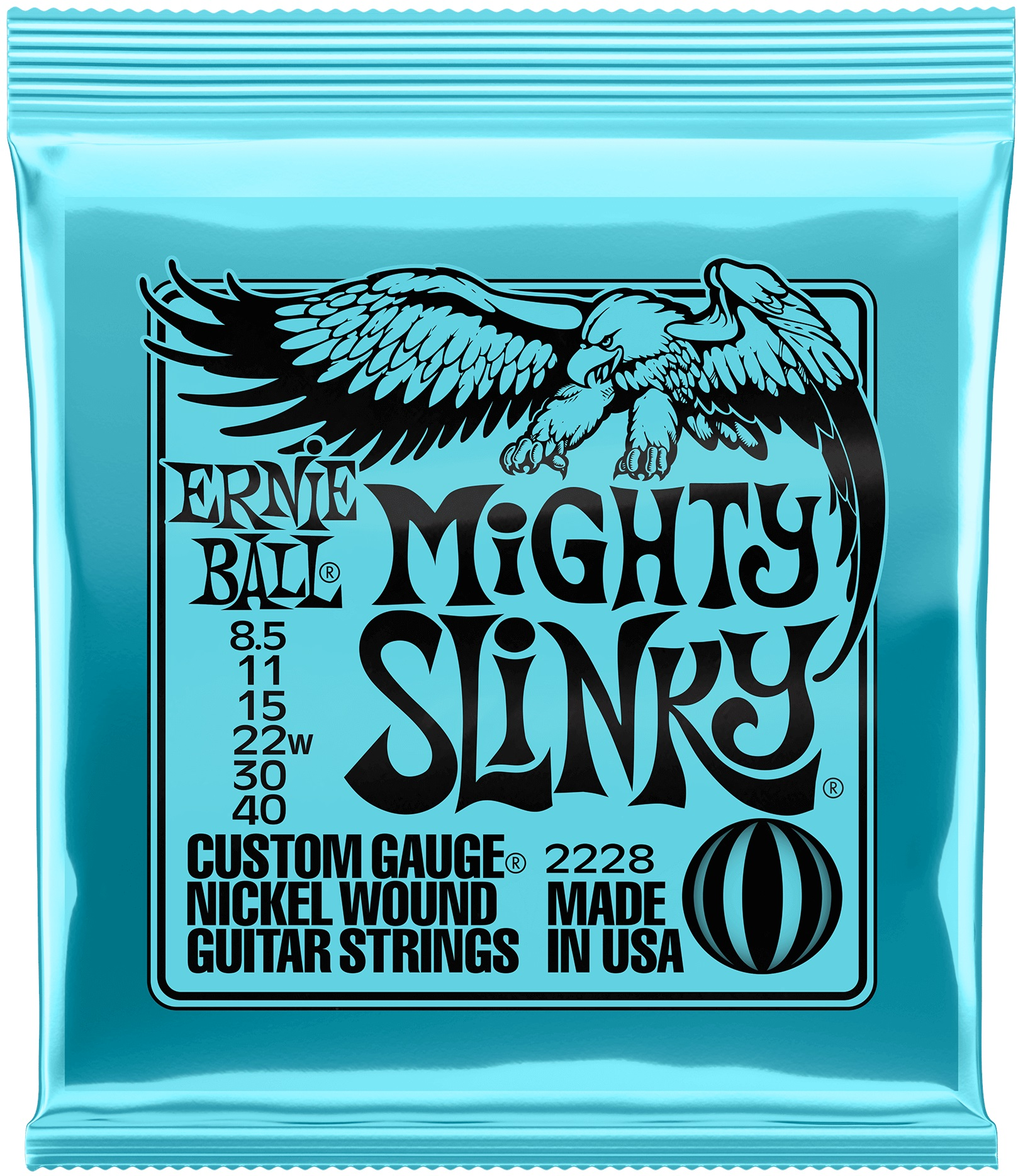 Ernie Ball Nickel Wound Mighty Slinky