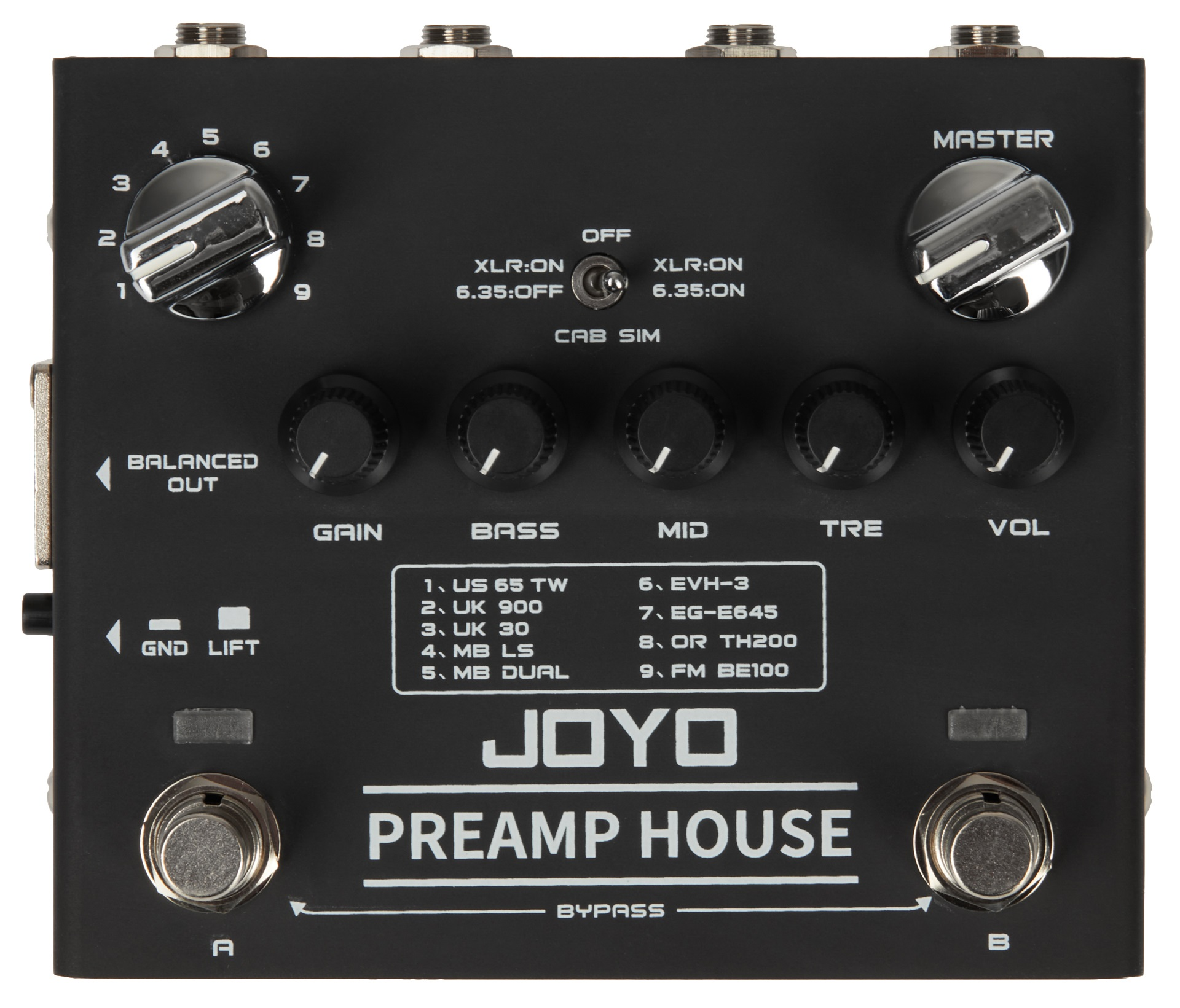 Joyo R-15 Preamp House