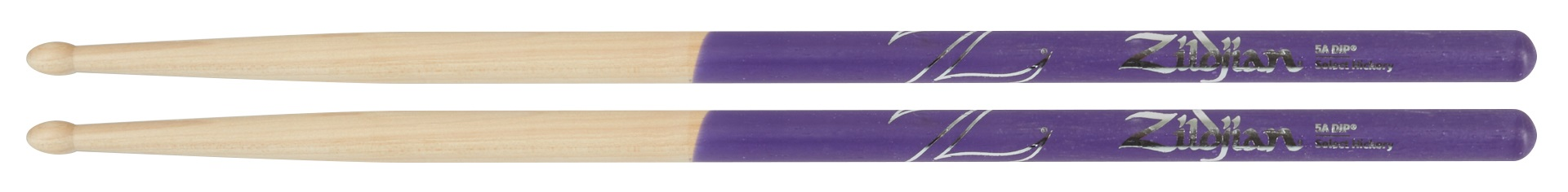 Zildjian 5A Wood Purple Dip