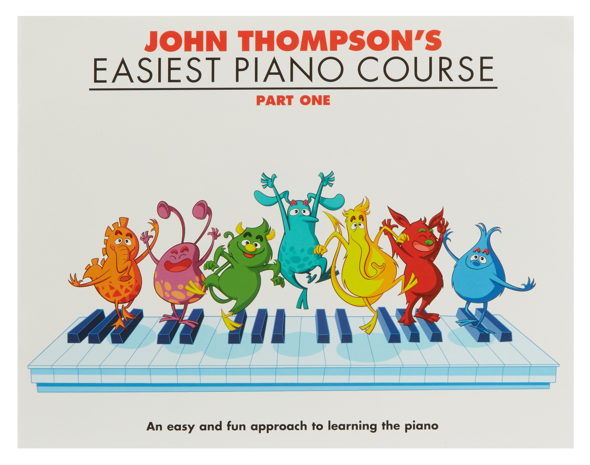 MS John Thompson's Easiest Piano Course: Part 1 - Revised Edition
