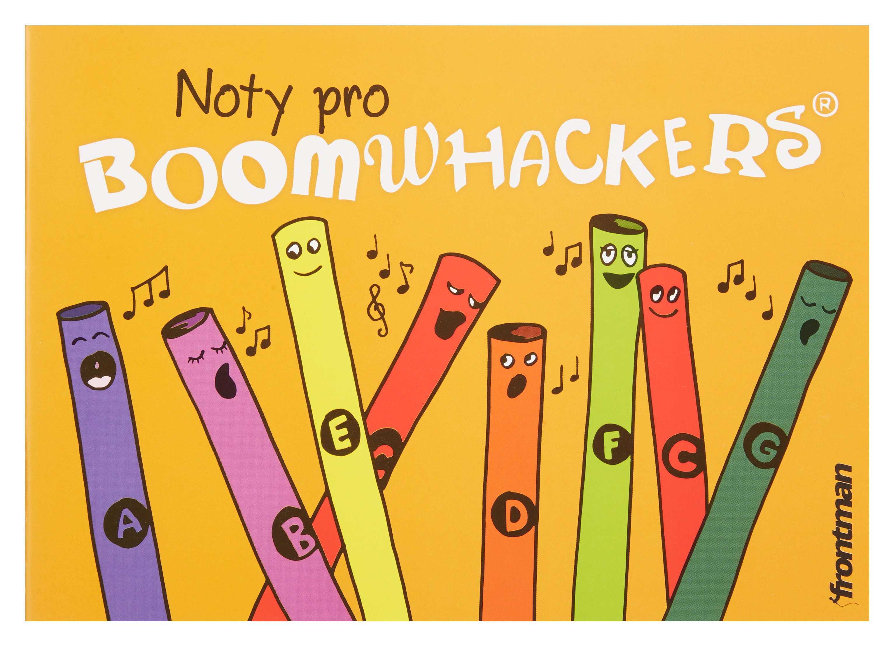 Frontman Zpěvník pro Boomwhackers
