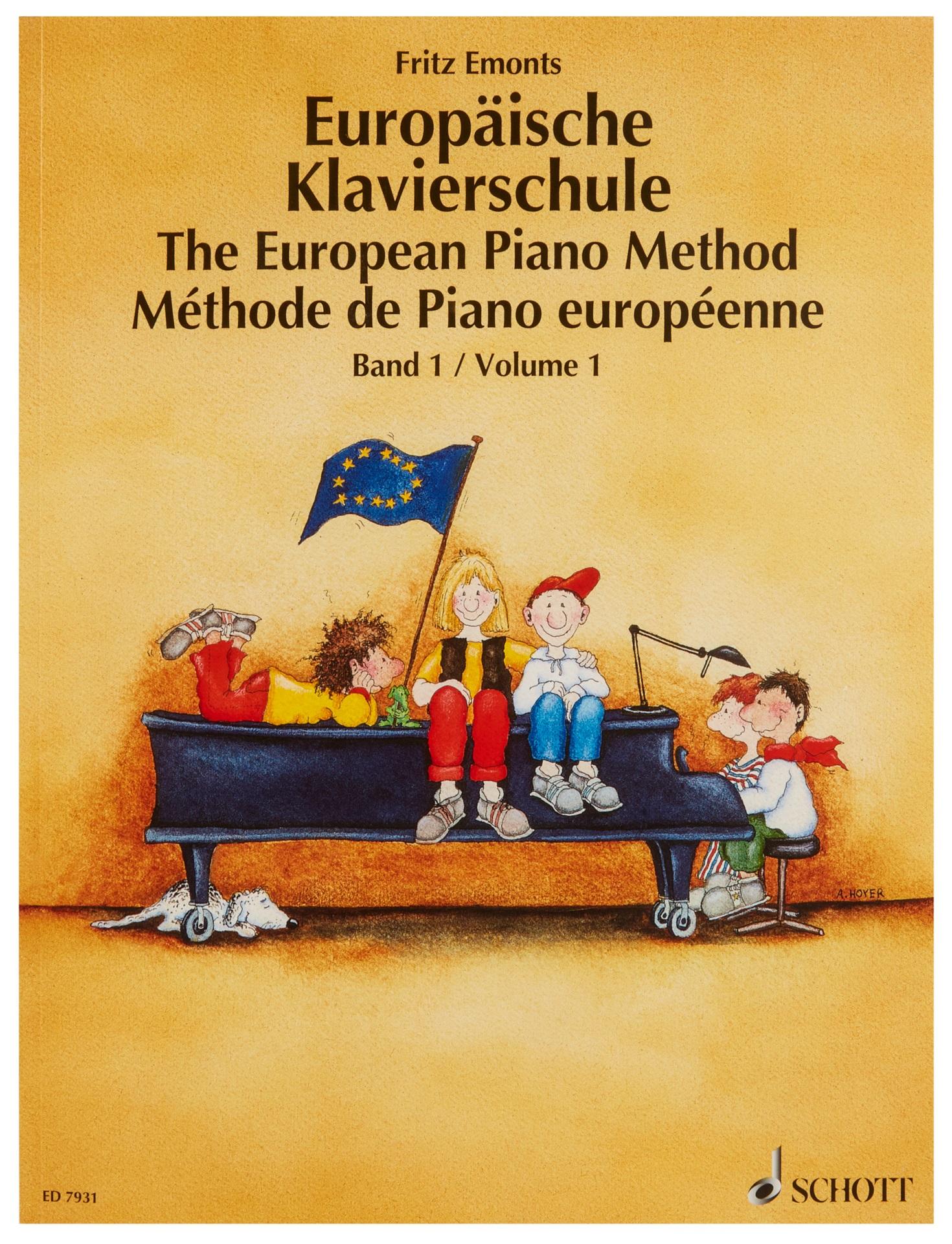 MS Evropská klavírní škola - Emonts Fritz