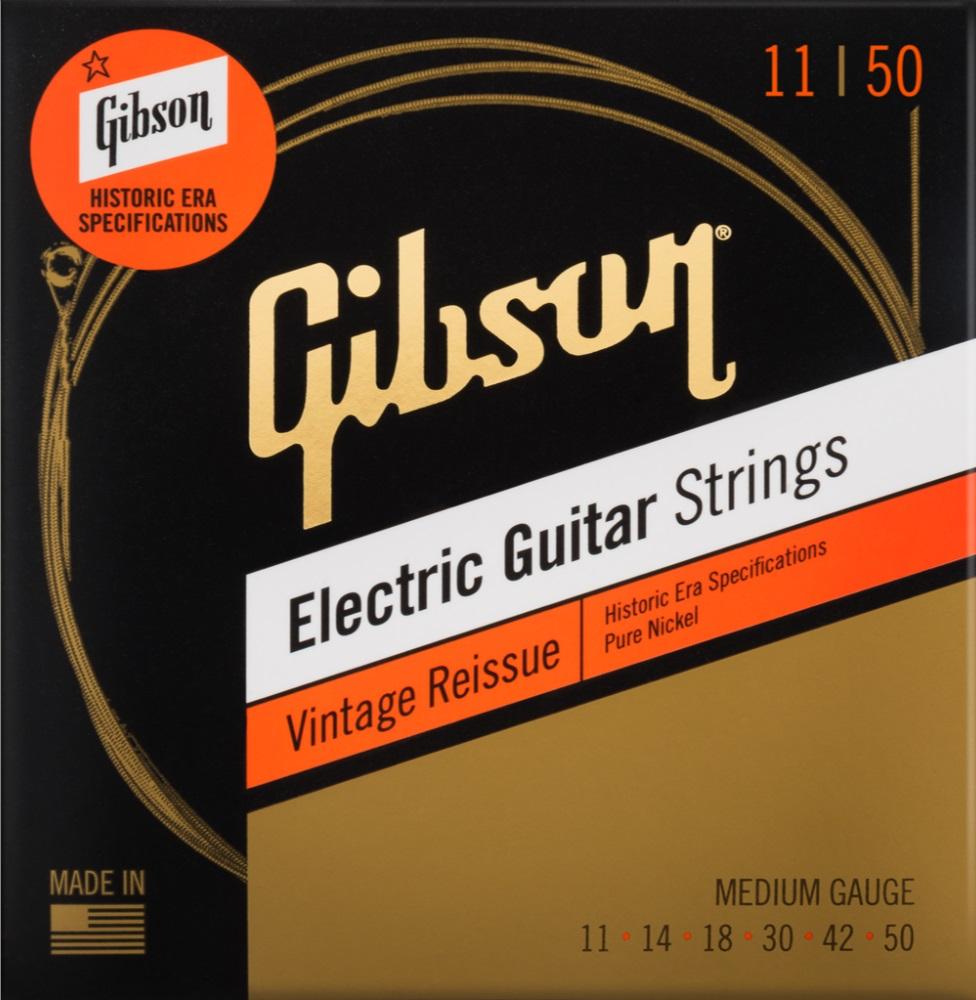 Gibson Vintage Reissue Electric Guitar Strings Medium