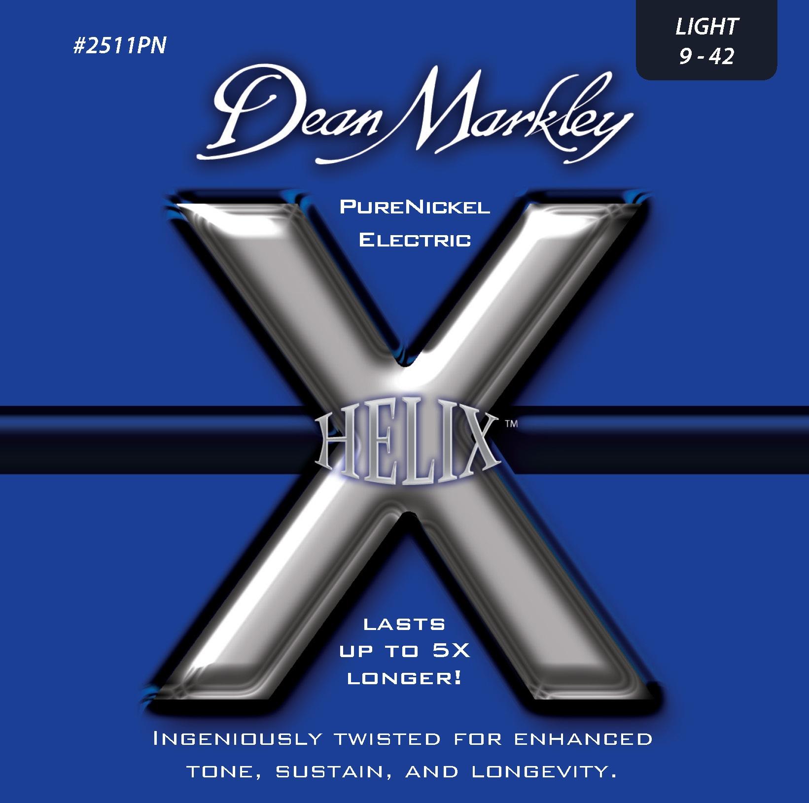 Dean Markley 2511PN LT 9-42 Helix PureNickel