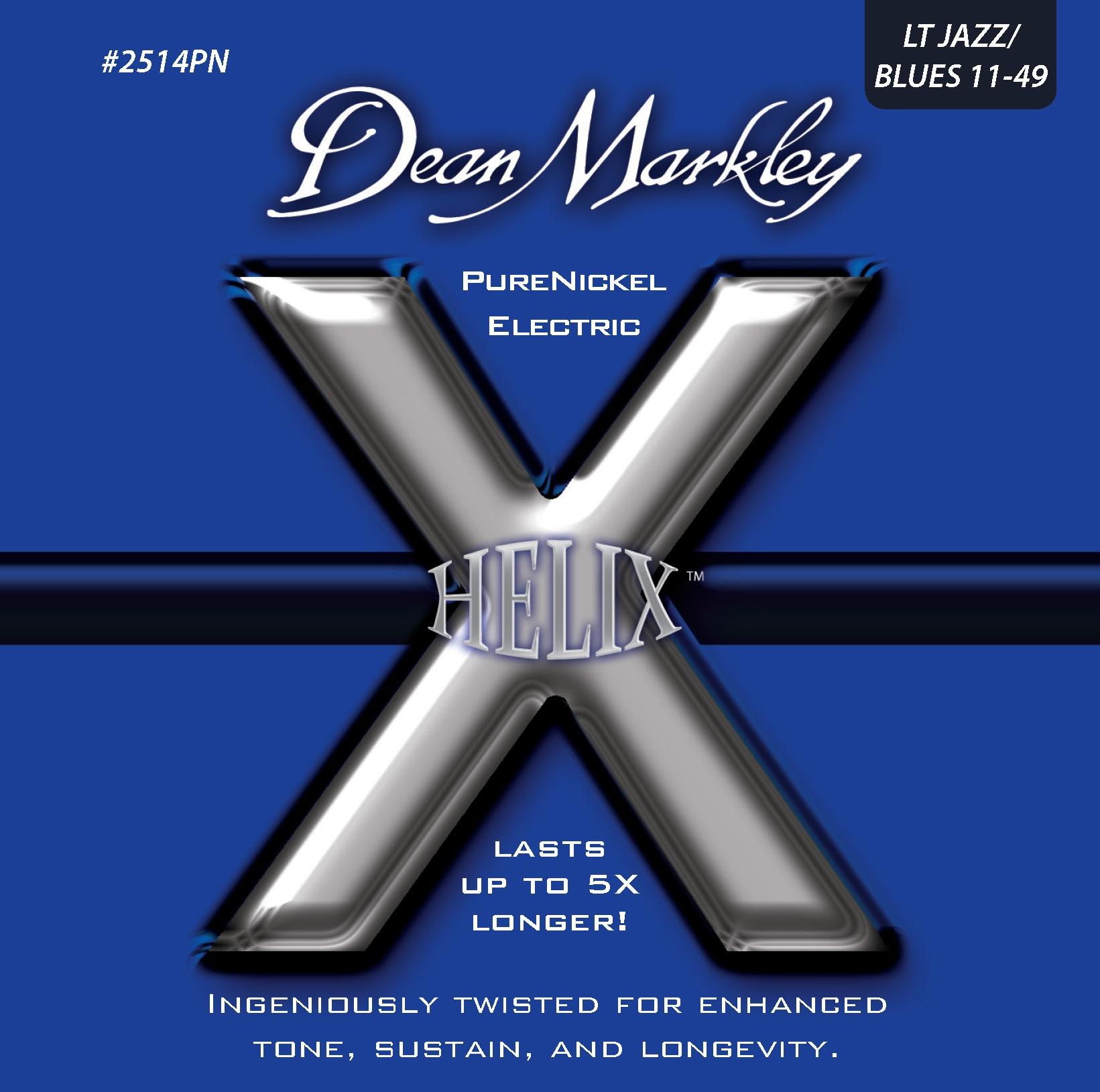Dean Markley 2514PN JAZZ 11-49 Helix PureNickel