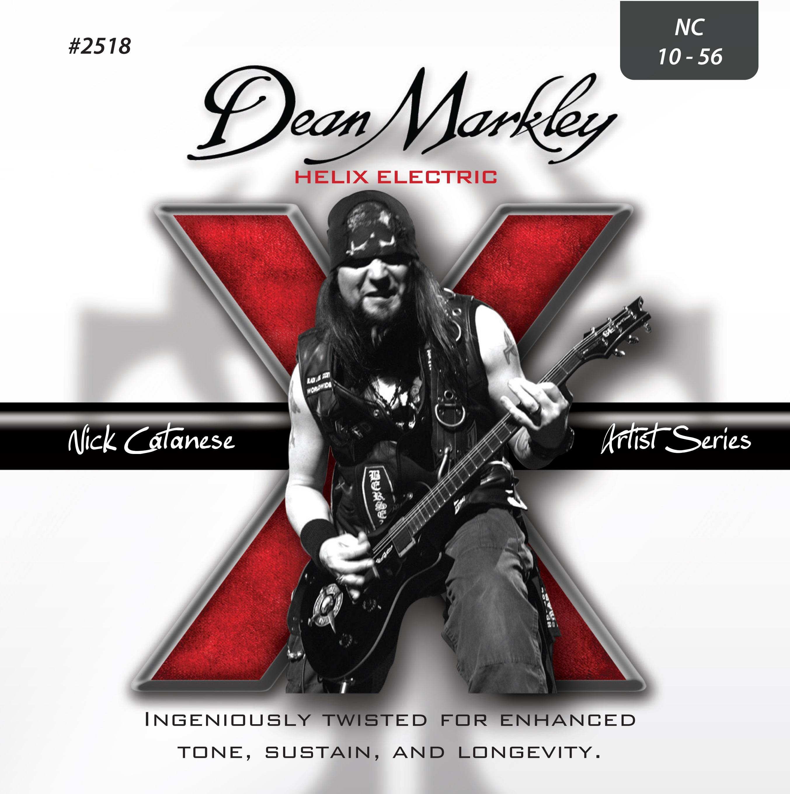 Dean Markley 2518 10-56 Helix HD Nick Catanese