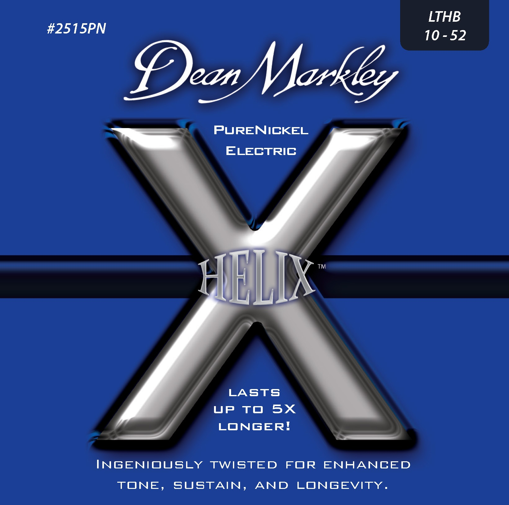 Dean Markley 2515PN LTHB 10-52 Helix PureNickel