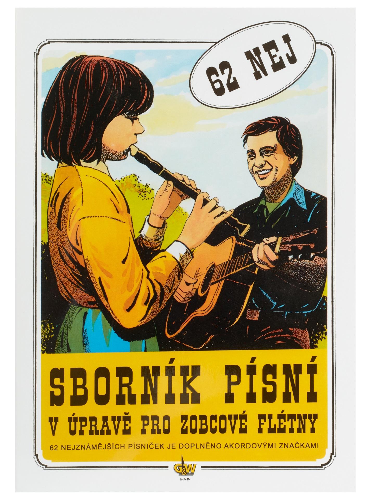 KN Sborník písní v úpravě pro zobcové flétny – 62 NEJ