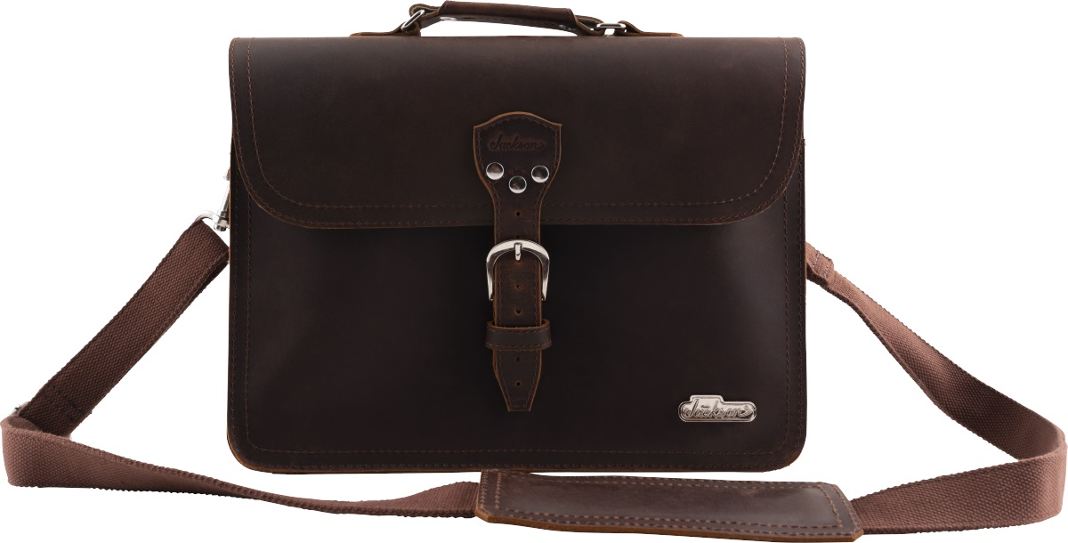 Jackson Leather Laptop Bag