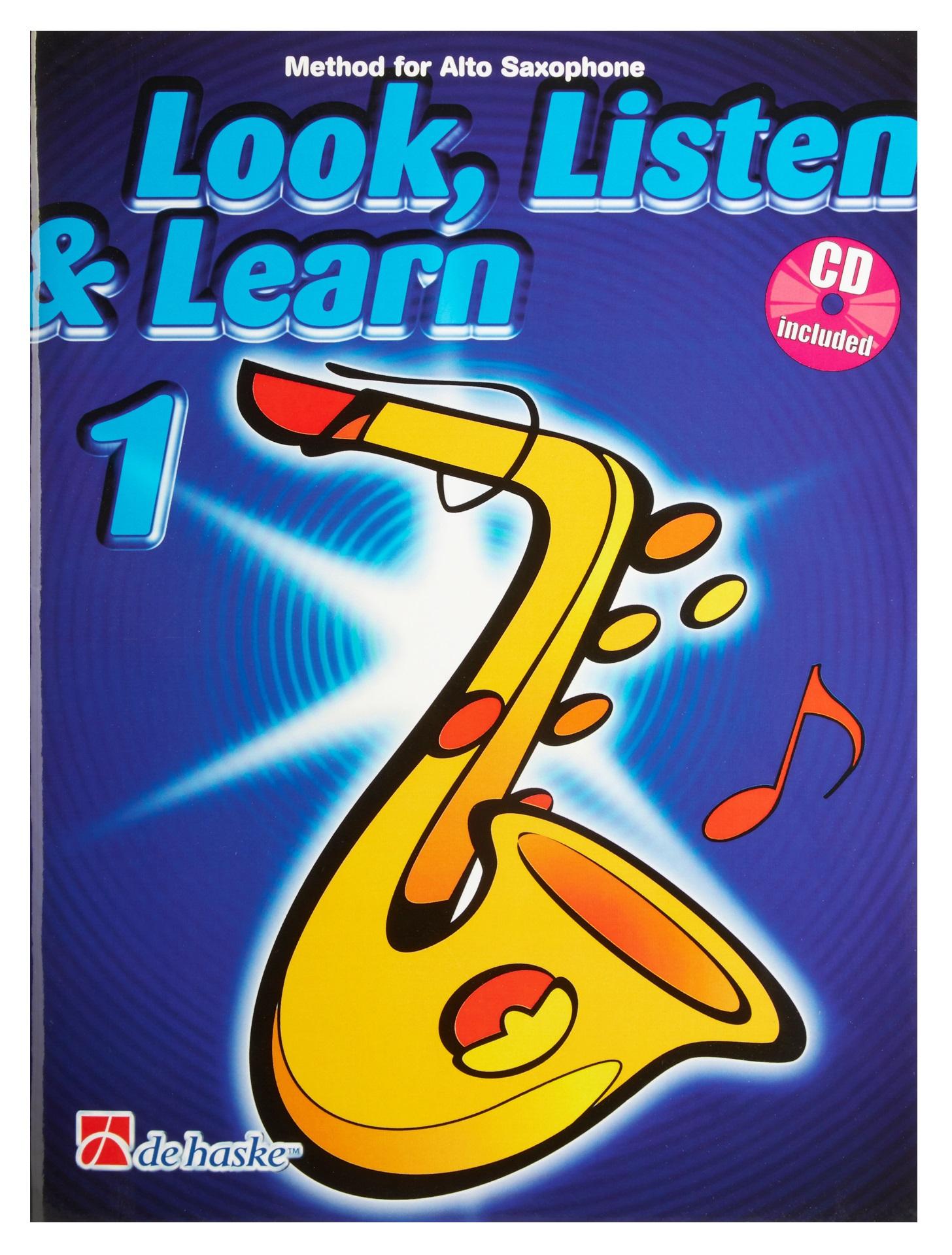 MS Look, Listen & Learn 1 - Alto Saxophone