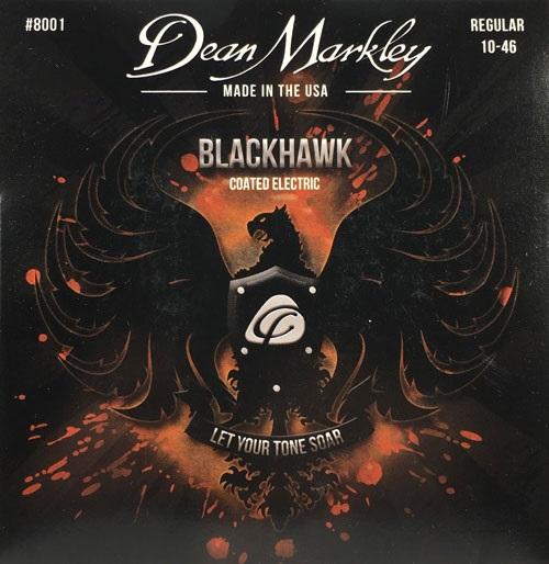 Dean Markley 8001 REG 10-46 Blackhawk Electric 010-013-017-026-036-046 REGULAR
