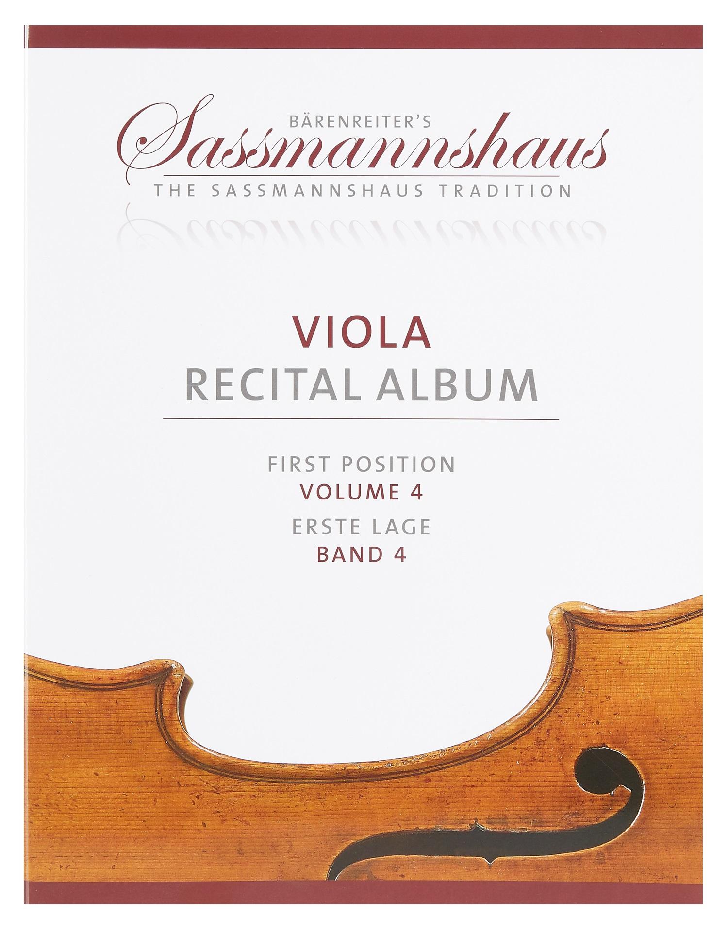 MS Viola Recital Album, svazek 4