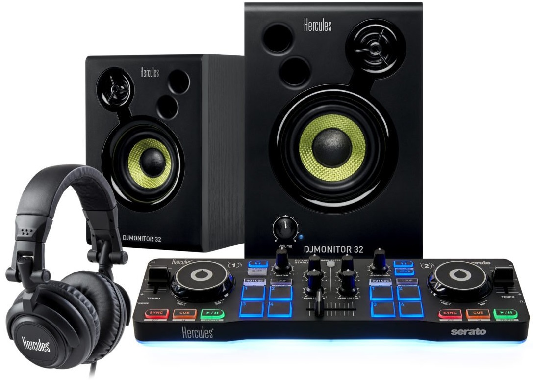 Hercules DJ DJStarter Kit with Serato DJ Lite