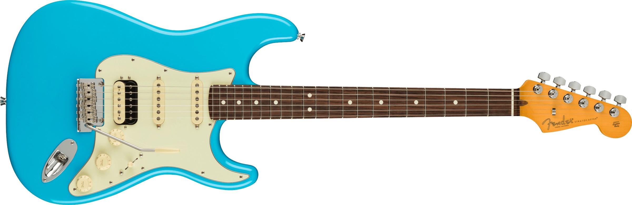 Levně Fender American Professional II Stratocaster HSS RW MBL