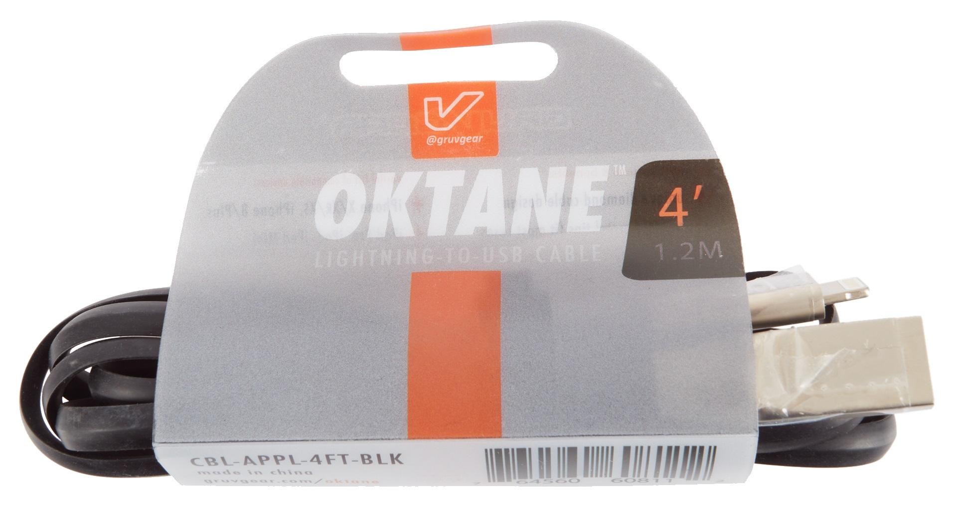 Gruvgear Oktane Charging Cable Lightning 6'