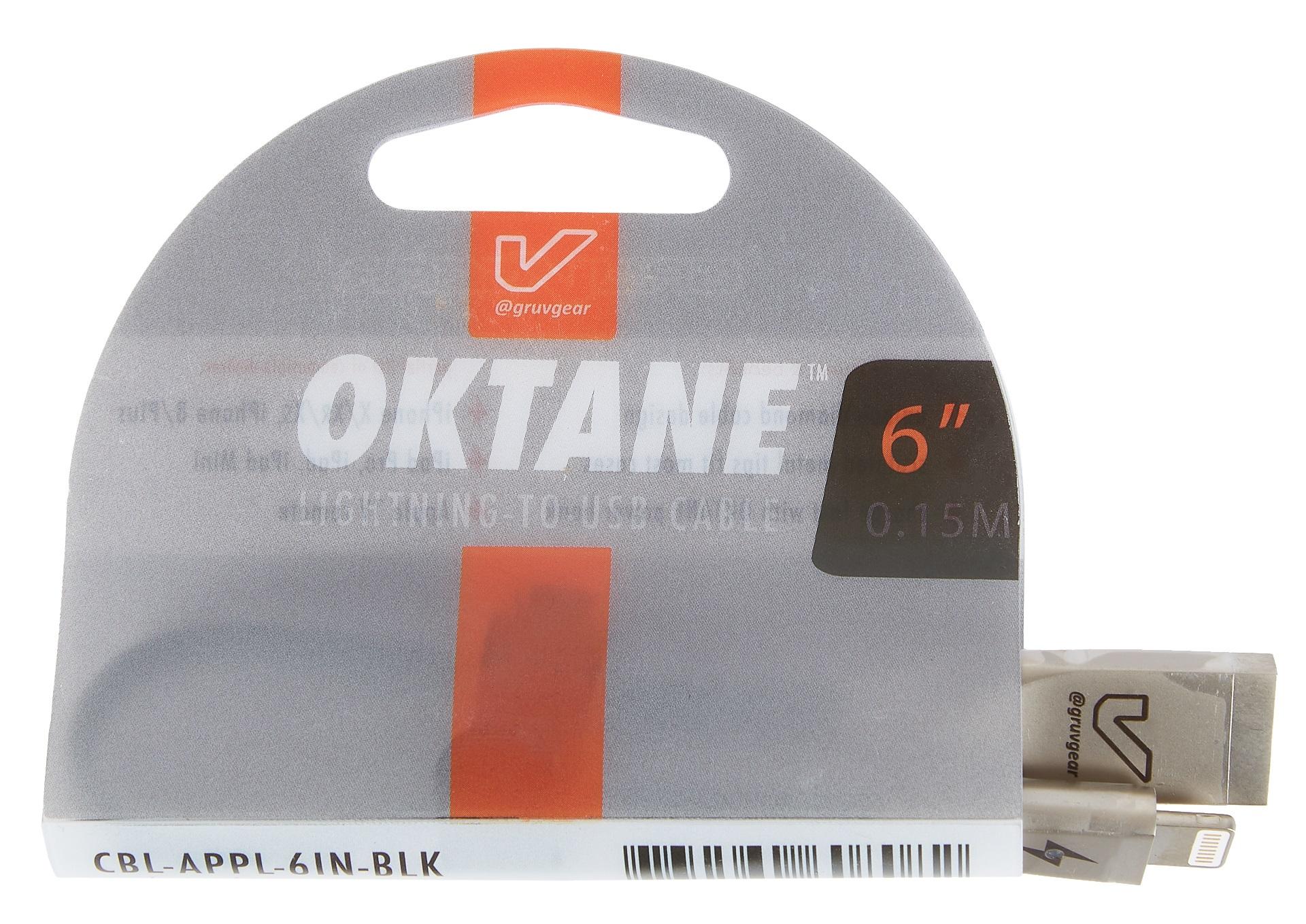 "Gruvgear Oktane Charging Cable Lightning 6"""