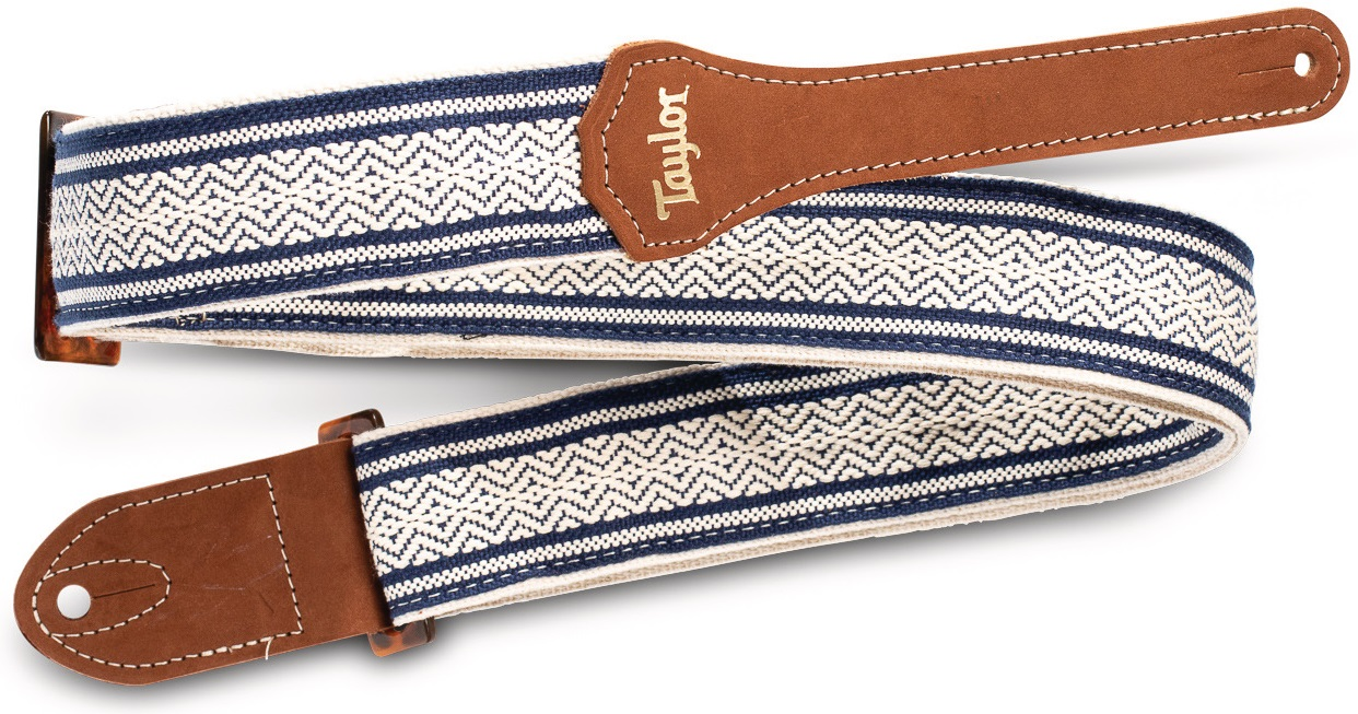 Taylor Academy Strap White/Blue