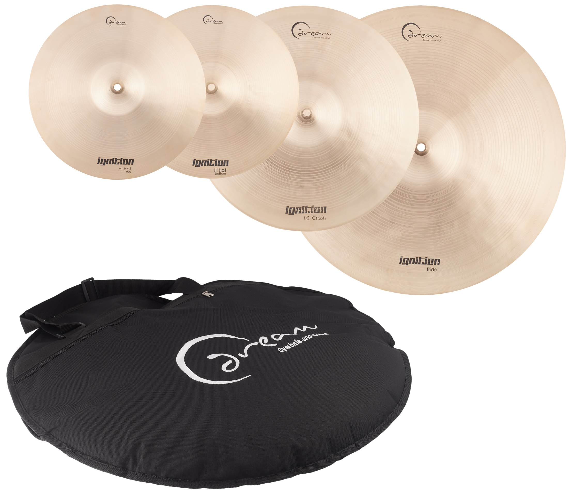 Dream Ignition Series 3 Piece Cymbal Pack