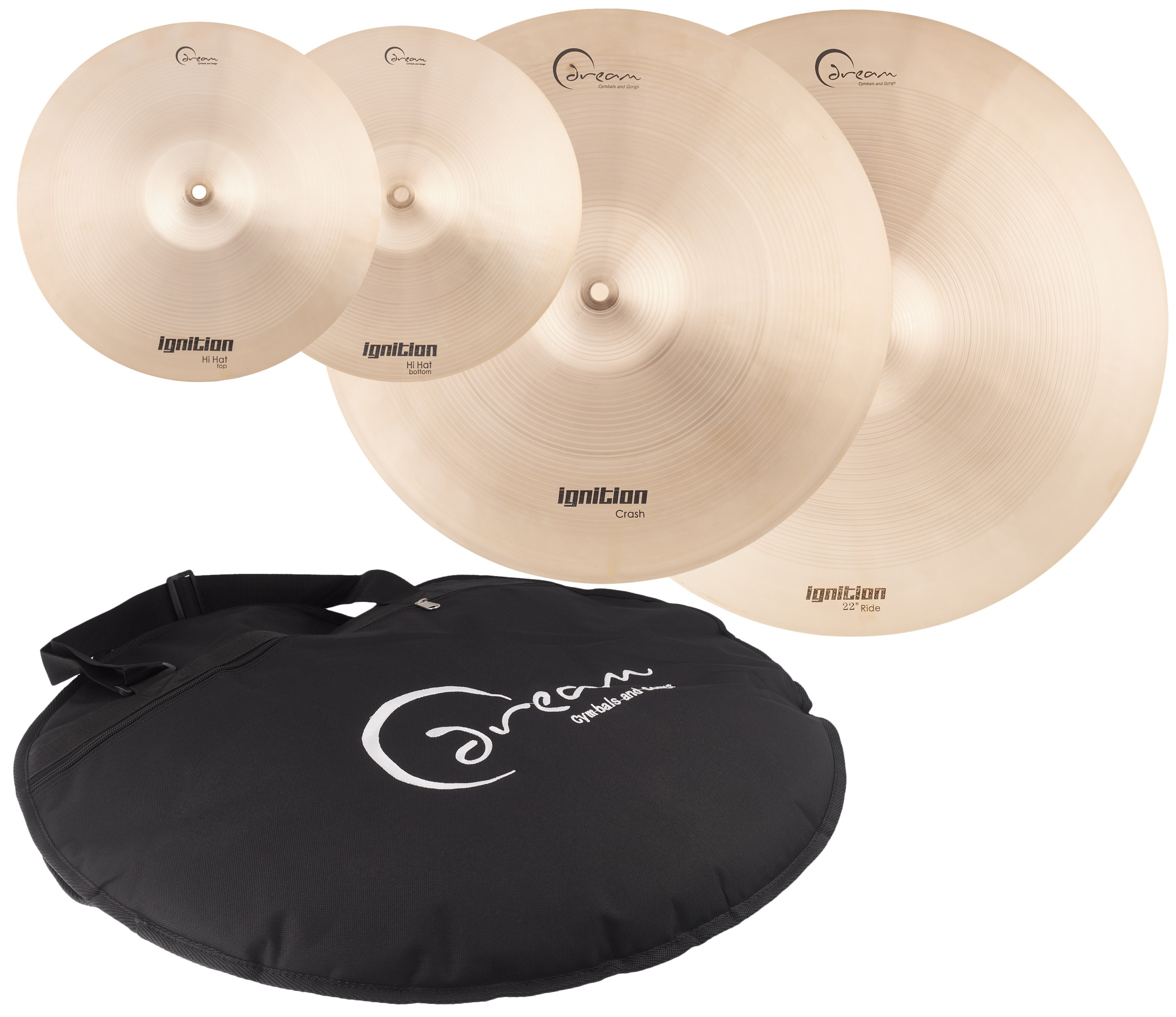 Dream Ignition Series 3 Piece Cymbal Pack - Large