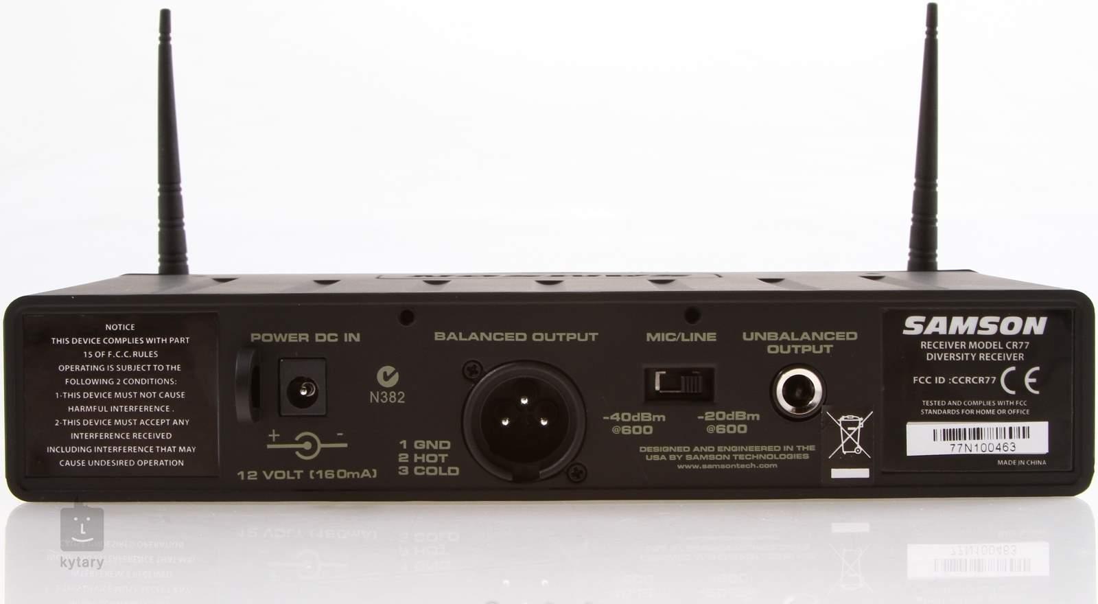 samson airline 77 wind instrument system e4 n strojov bezdr tov set. Black Bedroom Furniture Sets. Home Design Ideas