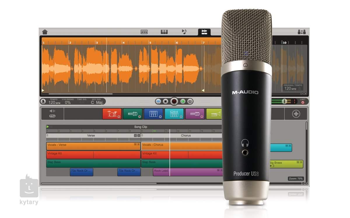 Zapojte kondenzátorový mikrofon