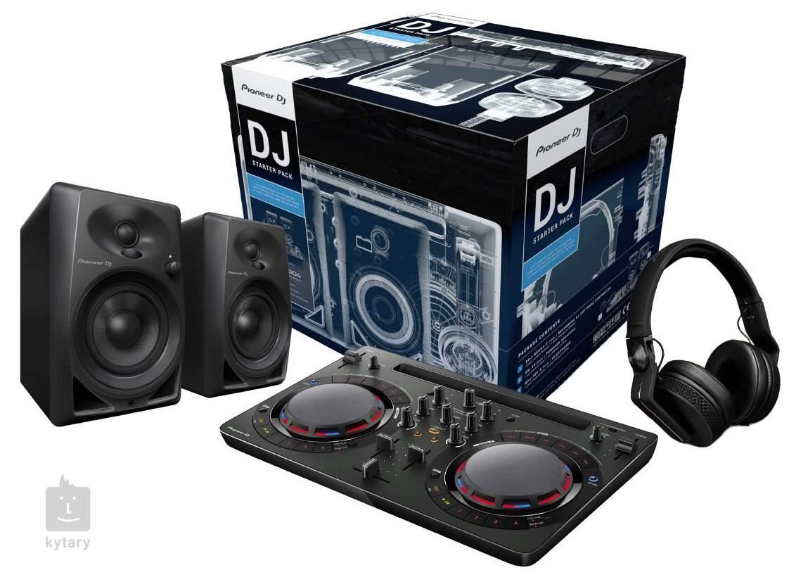 pioneer dj starter pack dj set. Black Bedroom Furniture Sets. Home Design Ideas