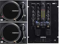 2x RP-2000 MK2 + DJ Mischpult