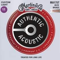 MARTIN Authentic Lifespan 2.0 80/20 Bronze Custom Light