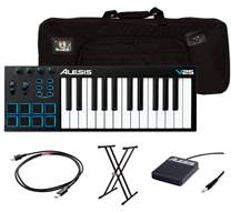MIDI keyboard + tartozékok