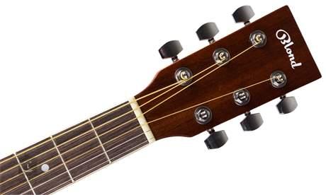 BLOND DN-1 N Akusztikus gitár