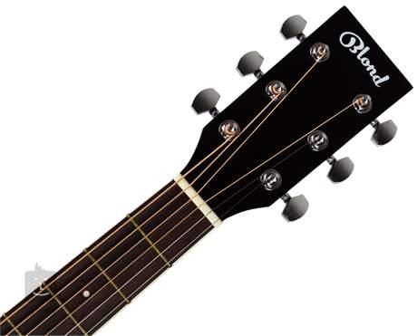 BLOND DN-1S BK Akusztikus gitár