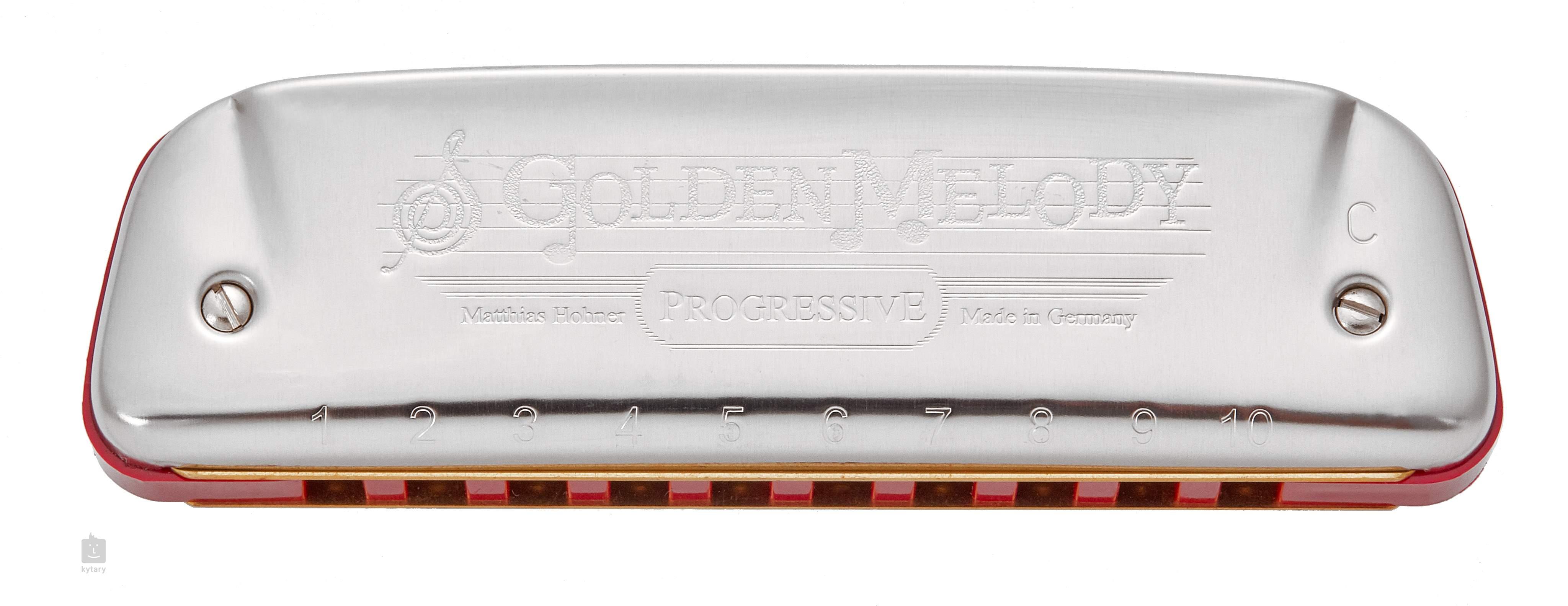 HOHNER Golden Melody C-major Harmonica