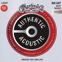 MARTIN Authentic Lifespan 2.0 80/20 Bronze Light