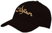Baseball Cap With Gold Logo
