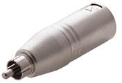 Adaptor XLR M / RCA M