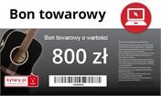 Bon podarunkowy on-line 800 złotych