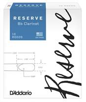 D'ADDARIO Rico Reserve Bb Clarinet - 10 - 3.0