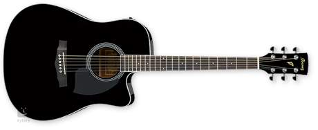 IBANEZ PF 15ECE BK Gitara elektroakustyczna